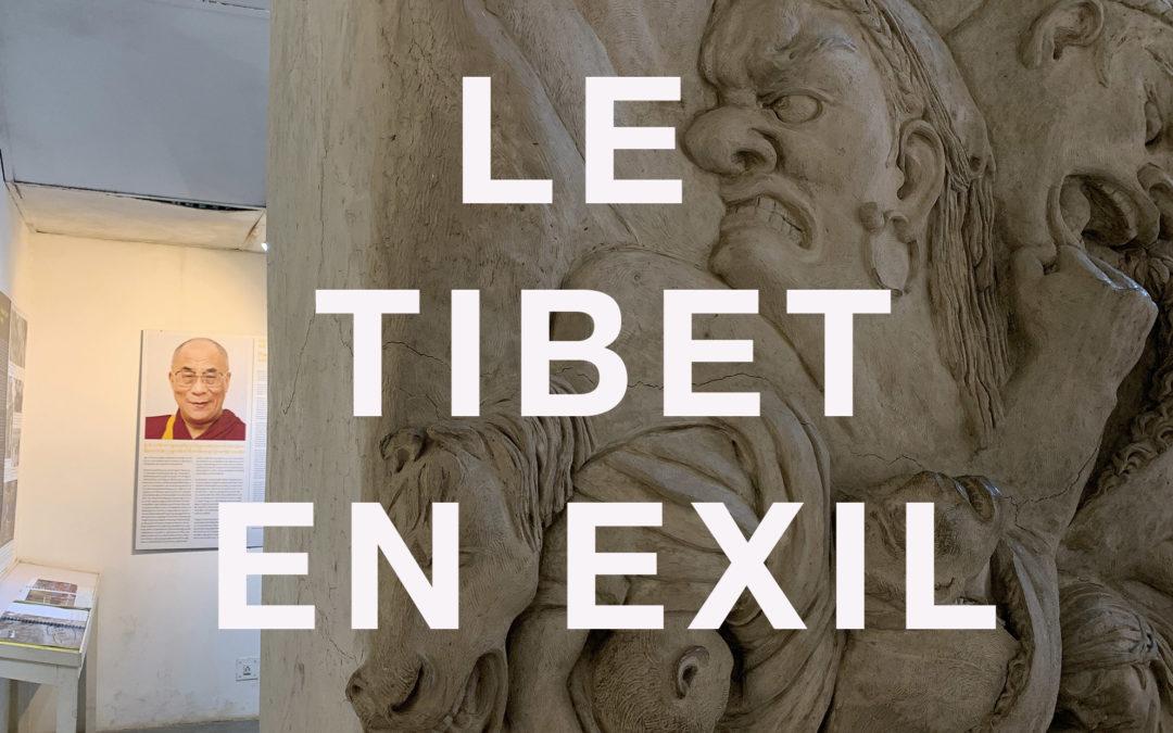 Visite du musée du Tibet à Dharamsala