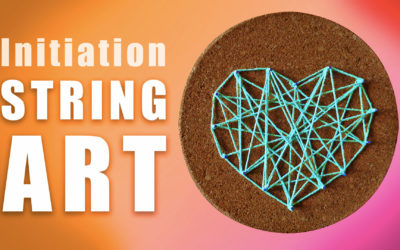 Initiation string art
